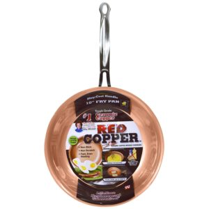 Red Copper 10 inch Pan